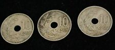 1923-1928 Lot of 3 Belgium Coins - Silver - Very Good Condition