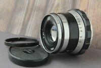 Soviet Lens INDUSTAR - 61 Zebra 52mm f 2.8 mount m39 Leica Zorki FED RF Lens