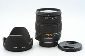 Excellen SIGMA 18-125mm F/3.8-5.6 DC OS HSM For Nikon From Japan! 121773