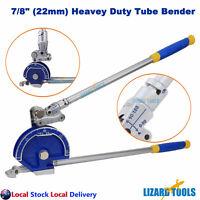 """Pro 7/8"""" 22mm Plumbing Tube Bender Stainless Steel Copper Aluminum Pipe"""