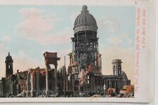 2867 AK Erdbeben Feuer San Francisco PC Cal after earthquake + fire 1906 USA
