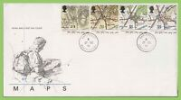 G.B. 1991 Ordinance Survey set on u/a Royal Mail First Day Cover, Hamstreet cds