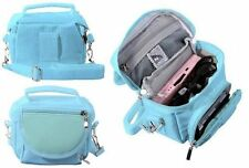 Blue Nintendo DS Lite/DSi/DSi XL/3DS/3DS XL Travel Bag Carry Case
