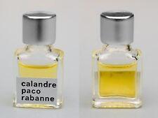 Flacon de parfum miniature, échantillon TRÈS RARE Calandre DE PACO RABANNE