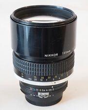 Nikon Nikkor 135mm 135mm f2 AI MF Lens