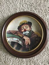 "Limited Edition Celebrity Clown Plate ""Emmett"""