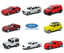 NEW 2018 Welly Serie 9 DieCast Metal Toy Cars 1:60 NEW MODELS NEW COLORS