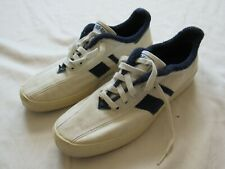 Vtg 80s Pro Keds Canvas Women's Tennis Shoe Sz 9.5 Terry Cloth Lined White Nice!