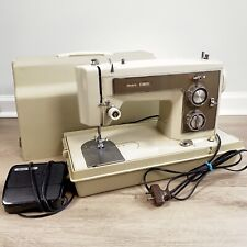Vintage Sears/Kenmore 158.14100 Sewing Machine with Case & Pedal, Tested Works