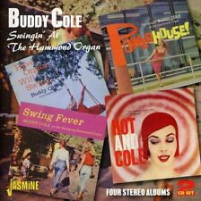 Buddy Cole - Swingin At The Hammond Organ  Four Stereo Albums [CD]