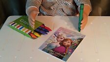 """Coloring Book & Crayon Set Your Choice of Character fits 18"""" American Girl Dolls"""