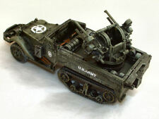 SGTS MESS AV04 1/72 Diecast US WWII M16 Halftrack with Quad .50 Cal AA Guns
