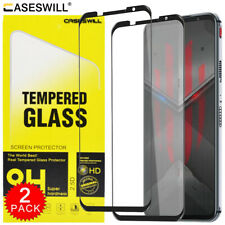For ZTE nubia Red Magic 5S Caseswill FULL COVER Tempered Glass Screen Protector
