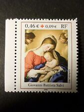 FRANCE 2002 timbre 3531a, croix rouge de carnet, neuf**, VF MNH STAMP RED CROSS