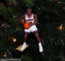 laphonso ELLIS denver NUGGETS basketball NBA xmas TREE ornament HOLIDAY jersey