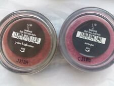 2 x  Blush Bare Minerals, loose, Your Highness & Your Escape 0.57g - Sealed