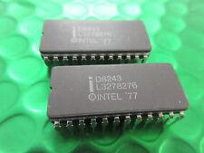 D8243, CERAMIC INTEL DIL24 PIN, INPUT OUTPUT EXPANDER, £3.99ea!