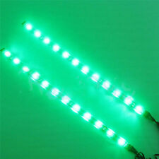 2PCS 12 LED 30cm 5050 SMD Flexible Strip Eyebrow Light 12V Car Decor Waterproof