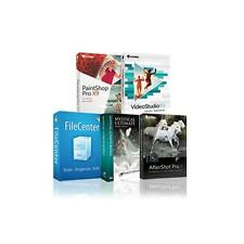 NEW Corel Digital Creative Suite 2.0 Software Kit Elite Edition WINDOWS COMBO