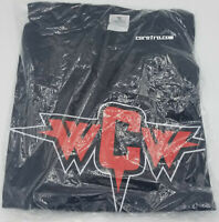 NEW Vintage AUTHENTIC WCW Wrestling T-Shirt SMALL Retro Clothing Shirt AEW 2001