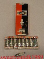 (8)....'NOS' Champion RJ-10Y Spark Plugs.....High-Performance Mopars...