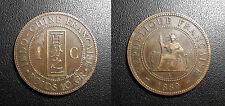 Indochine Française - 1 centième 1889 - JL#41
