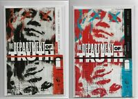 The Department Of Truth #1 Cover A & 2nd Print Image Comics
