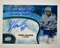 2019-20 ICE 2018-19 Ice Update Glacial Graphs Auto #GG-YG Yanni Gourde