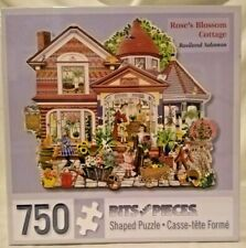 Bits And Pieces 40708 Rose's Blossom Cottage 1000 pc jigsaw Rosiland Solomon
