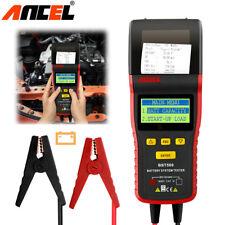ANCEL BST500 12V/24V Car Heavy Truck Battery Starter Charge Tester With Printer