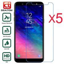 5 templado vidrio Protector de pantalla para Samsung Galaxy A3 A5 A7 A6 A8 2018