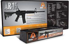 "AR 15 Gun Cleaning Mat (38"" x 14"") 3mm Neoprene - Waterproof AR 15 Parts Diag..."