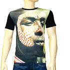DESIGUAL Tee shirt noir homme EMPLUMPADA taille L