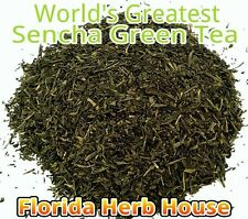 Decaf Green Tea - 16 oz (1 lb) - Our Best Wild Decaffeinated Sencha Green Tea!
