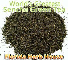 Decaf Green Tea - 16 oz (1 lb) - Our Best Wild Decaffeinated Sencha Green Tea!