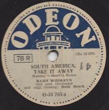 Ruth Bruck mit Orchester Kurt Widmann : The Coffee Song + South America