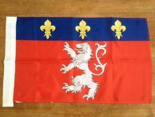DRAPEAU de lyon lyonnais ol bandiera flag rhone alpes gones