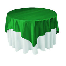 Square Fabric Overlay Tablecloth / Table Cover (Made From Polyester Not Cotton)