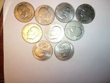 us eisenhour silver dollar coins very good condition