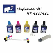 SUMINKS Magictube Refill Kit,HP 950/951or 932/933 Cartridge 2.4 ounce (70ml)x 9