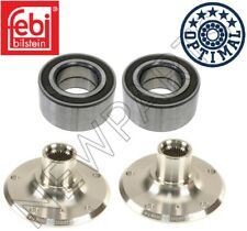 BMW E90 E91 E92 E93 3-Series Set of Left and Right Rear Wheel Hubs with Bearings