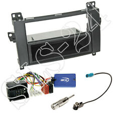 Clarion volante Interface + 2-din radio diafragma + especializado Mercedes Vito/Viano w639 set
