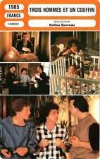 FICHE CINEMA : TROIS HOMMES ET UN COUFFIN Giraud,Boujenah,Dussolier,Serreau 1985