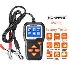 6-16V Automotive Car Battery Tester 100-2000 CCA Charging Cranking Load Analyzer