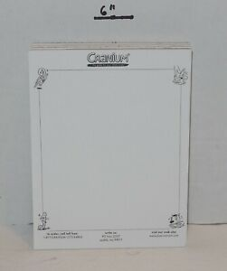 2003 Cranium Board Game Replacement Set of 4 Writing Pads