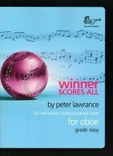 WINNER SCORES ALL Lawrance Oboe