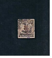 China: Used 1/2 Half Cent Junk Sailing Ship Postmarked Ichang 1913-1915