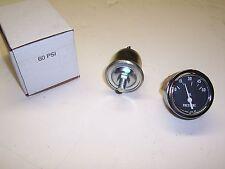 """NOS AC Oil Pressure Guage - 60psi - 2 1/16"""" dia - 12 volt - 6460619"""