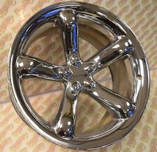 "2000 2001 01 2002 02 PLYMOUTH PROWLER 20"" ALUMINUM CHROME PLATED REAR RIM WHEEL"