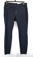 HUE Curvy Denim Leggings Size XL Midnight Rinse U14561 Retail $44